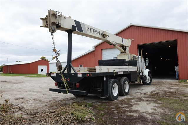 Sold 1994 NATIONAL 600C MOUNTED ON 1994 INTERNATIONAL 4900 Crane for  in Norwalk Iowa on CraneNetwork.com
