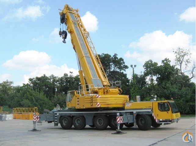 Liebherr LTM 1220-52 All Terrain Cranes Crane for Sale 2010 LIEBHERR LTM 1220-52 in Houston  Texas  United States 218002 CraneNetwork