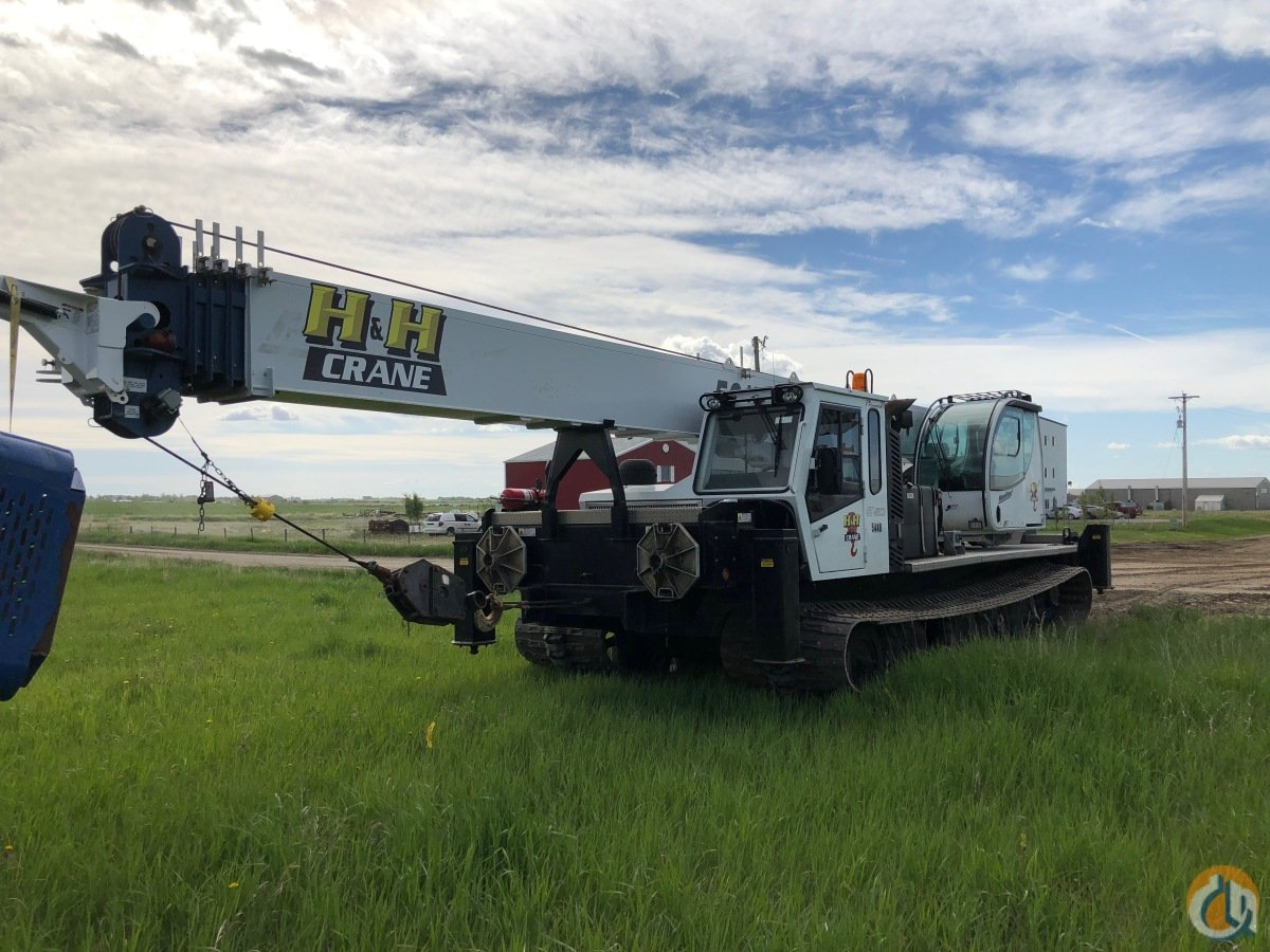 2015 Manitex GT50155SHL mounted on a Prinoth Go-Tract 4500 tracked carrier Crane for Sale or Rent in Calgary Alberta on CraneNetwork.com