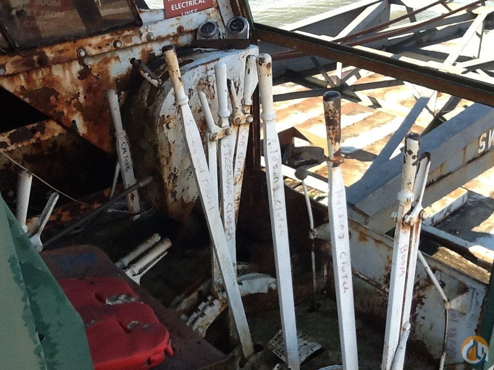 1960 Bucyrus Erie 54-B Crane for Sale in Memphis Tennessee on CraneNetwork.com