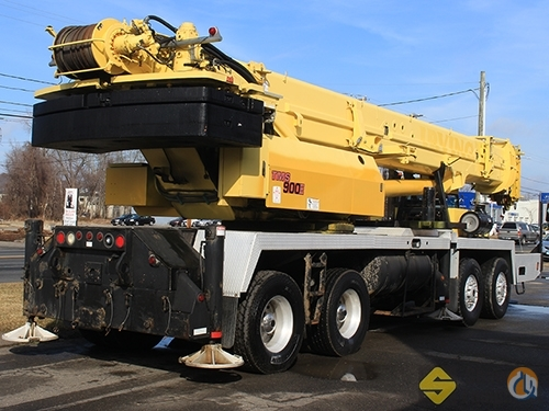 2005 Grove TMS900E Crane for Sale in Manchester Connecticut on CraneNetworkcom