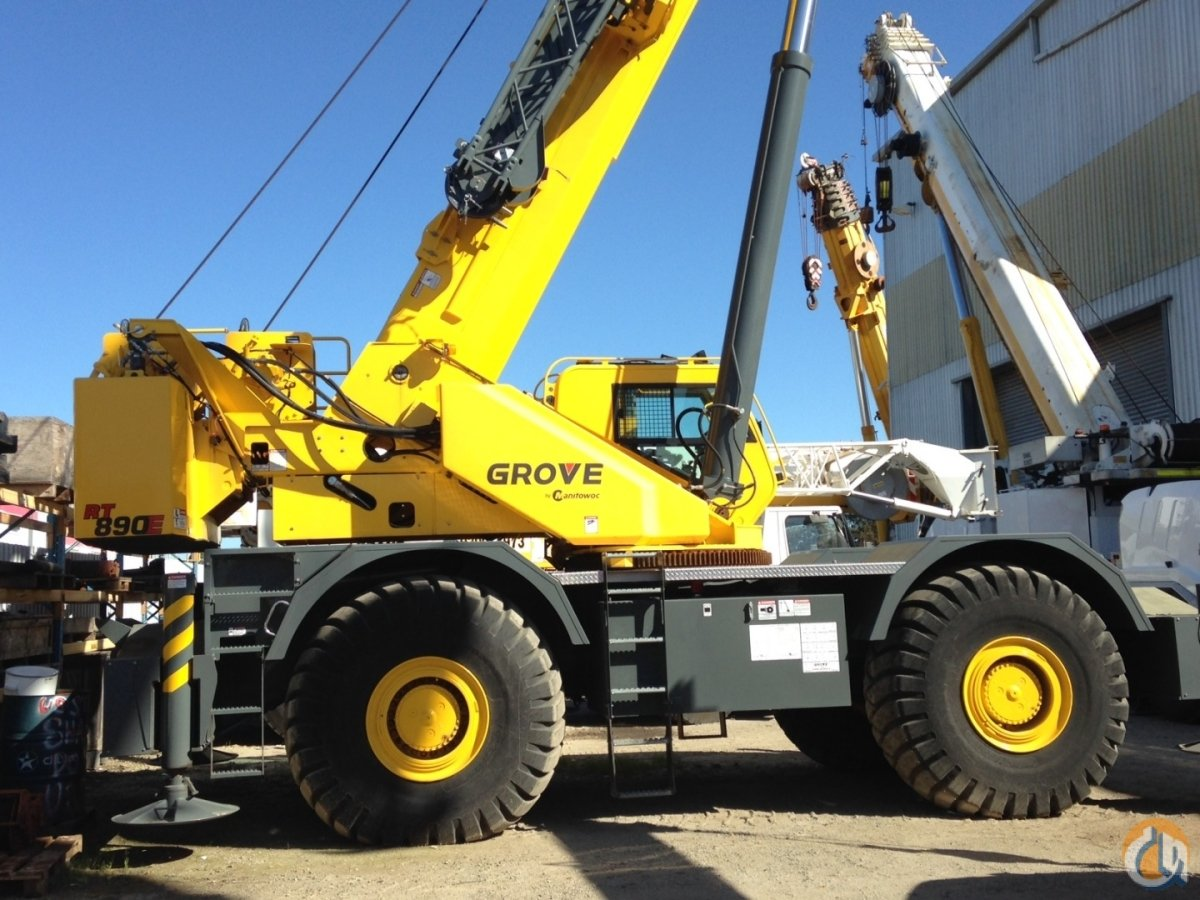 HEAVILY DISCOUNTED Super low-hours Grove 80t rough terrain for sale Crane for Sale in Perth Western Australia on CraneNetwork.com