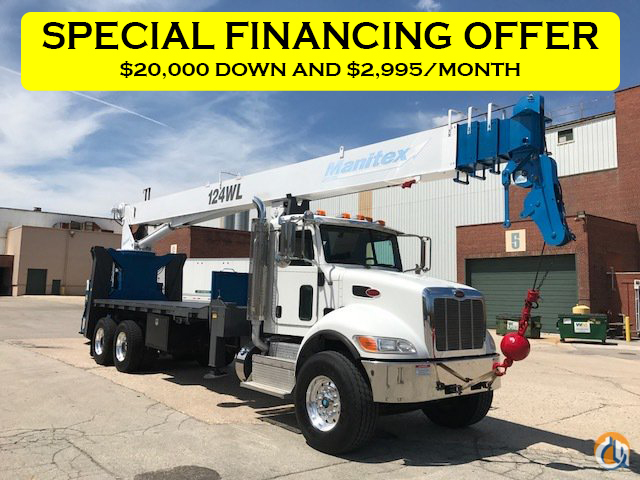 Sold 2013 MANITEX 124WL Crane for  in Milwaukee Wisconsin on CraneNetwork.com