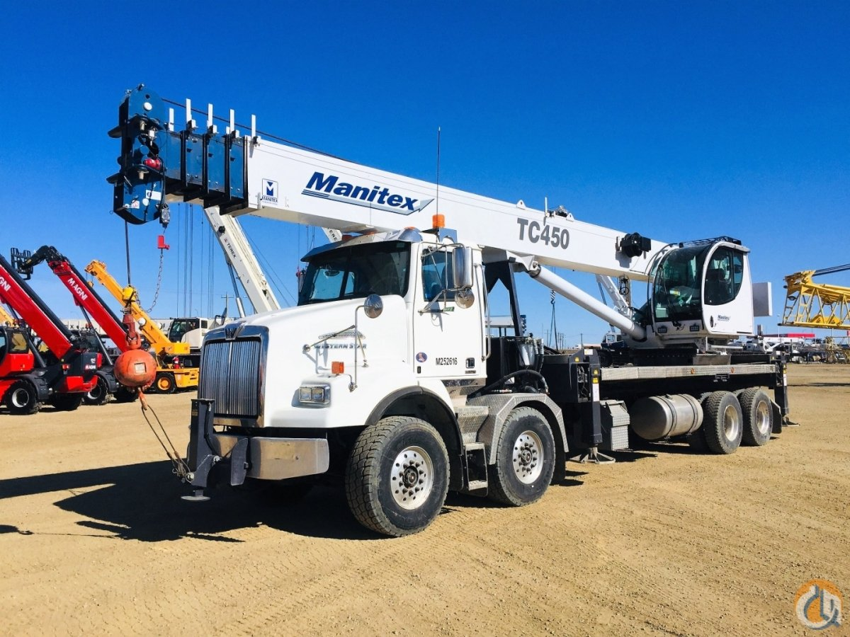 2018 MANITEX TC45142 Crane for Sale or Rent in Nisku Alberta on CraneNetwork.com