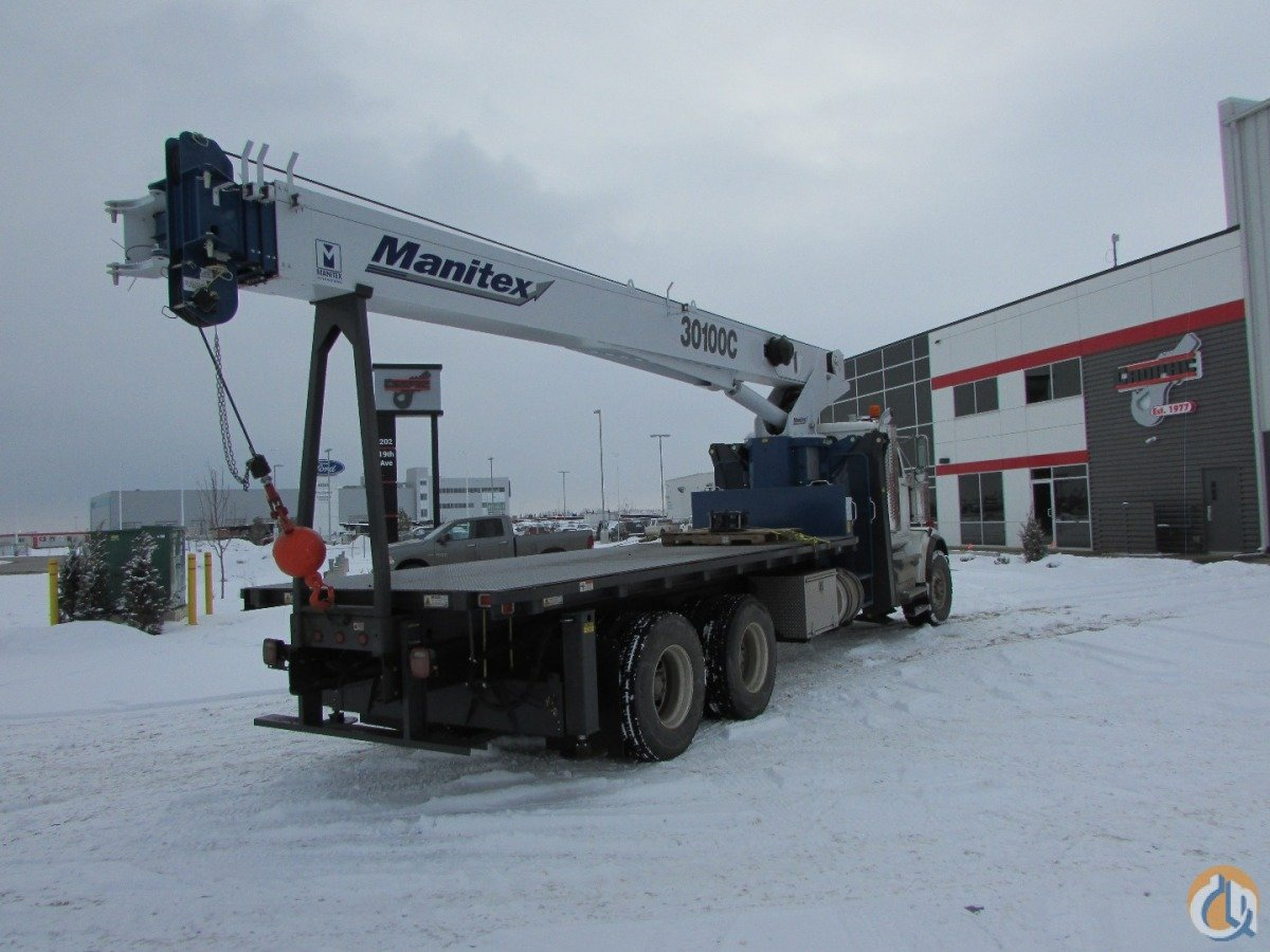 New 2016 Manitex Model 30100C OD Crane for Sale or Rent in Nisku Alberta on CraneNetwork.com