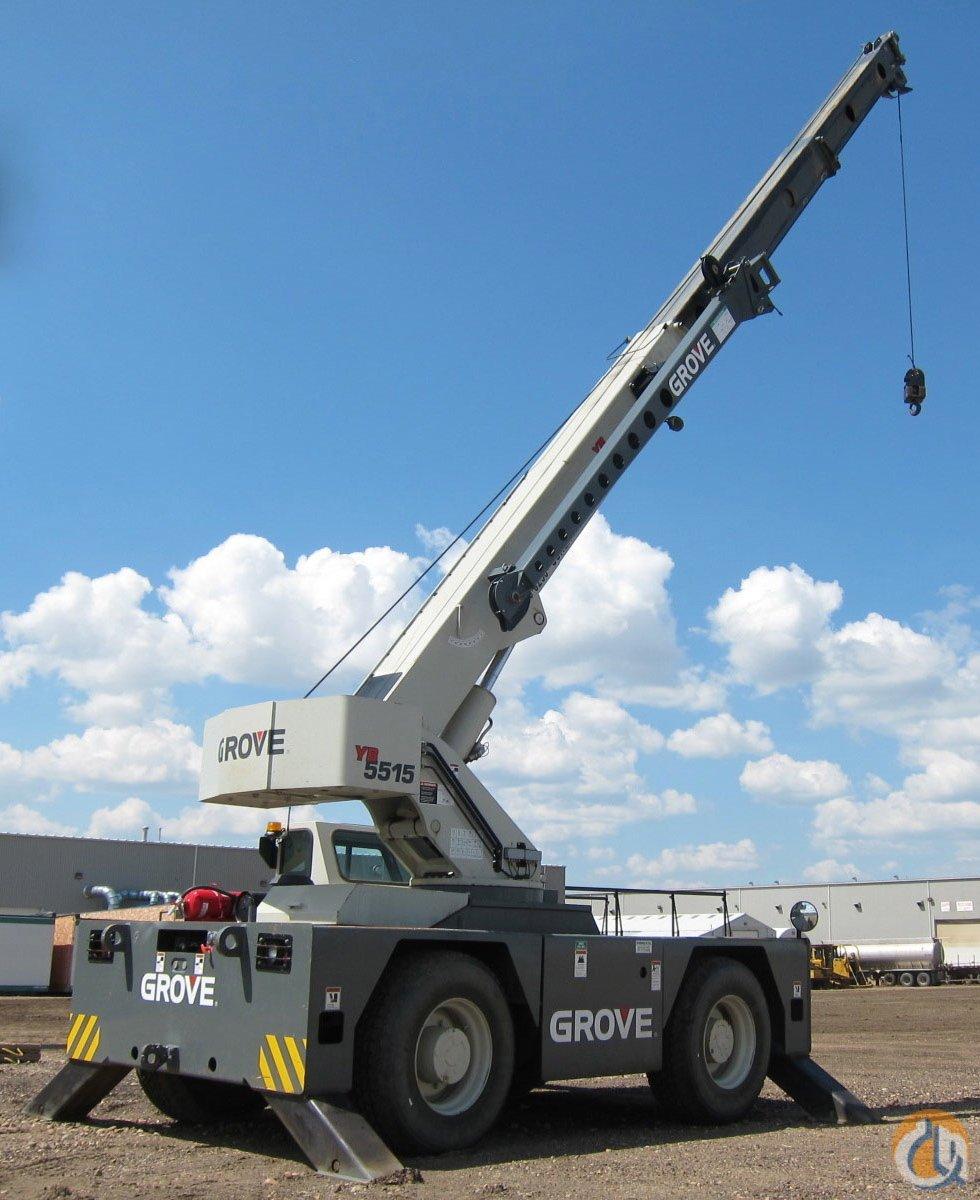 Grove 15 Ton Carry Deck Crane Crane For Sale In Edmonton