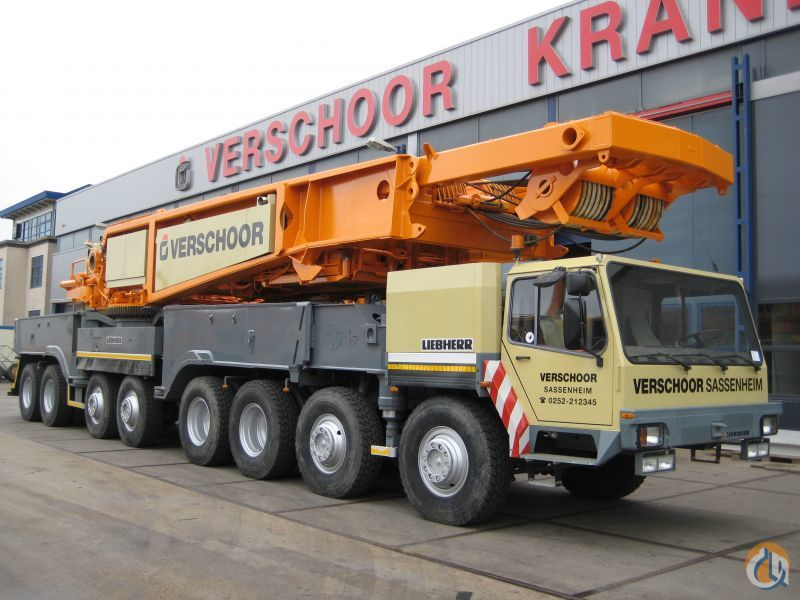 Liebherr LG 1550 Crane for Sale in Sassenheim Zuid-Holland