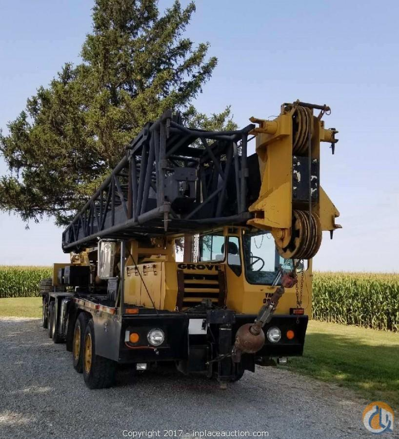 1988 Grove TMS300B Crane for Sale in Swisher Iowa on CraneNetwork.com