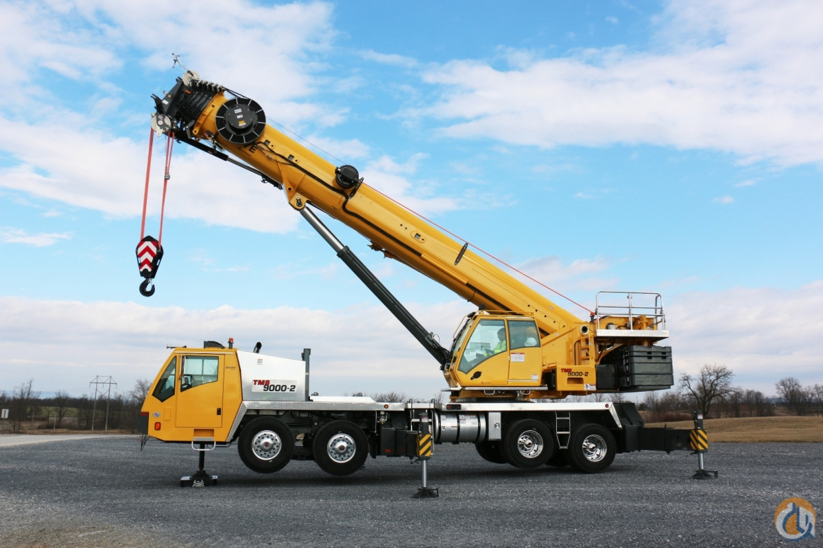 Sold New 2018 Grove TMS 9000-2 Crane for in Cleveland Ohio on