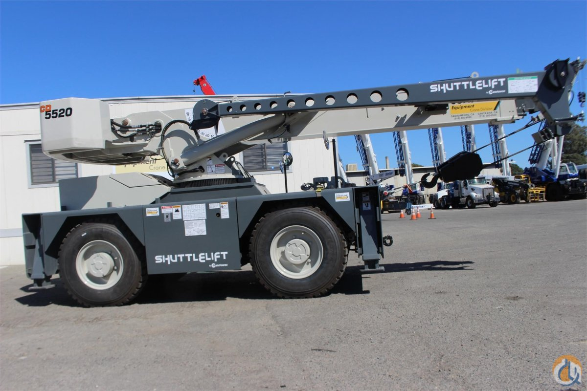 2018 SHUTTLELIFT CD5520 Crane for Sale or Rent in Sacramento California on CraneNetwork.com