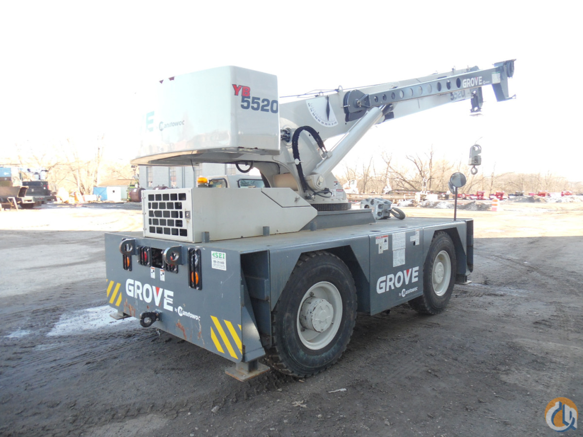2013 Grove YB5520 Crane for Sale in Harrisburg Pennsylvania on CraneNetworkcom