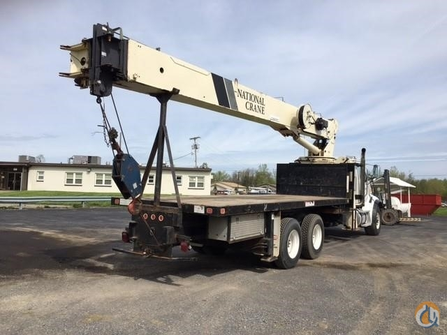 2006 National 9103A mounted on a 2006 Sterling L7500 Crane for Sale in Syracuse New York on CraneNetworkcom