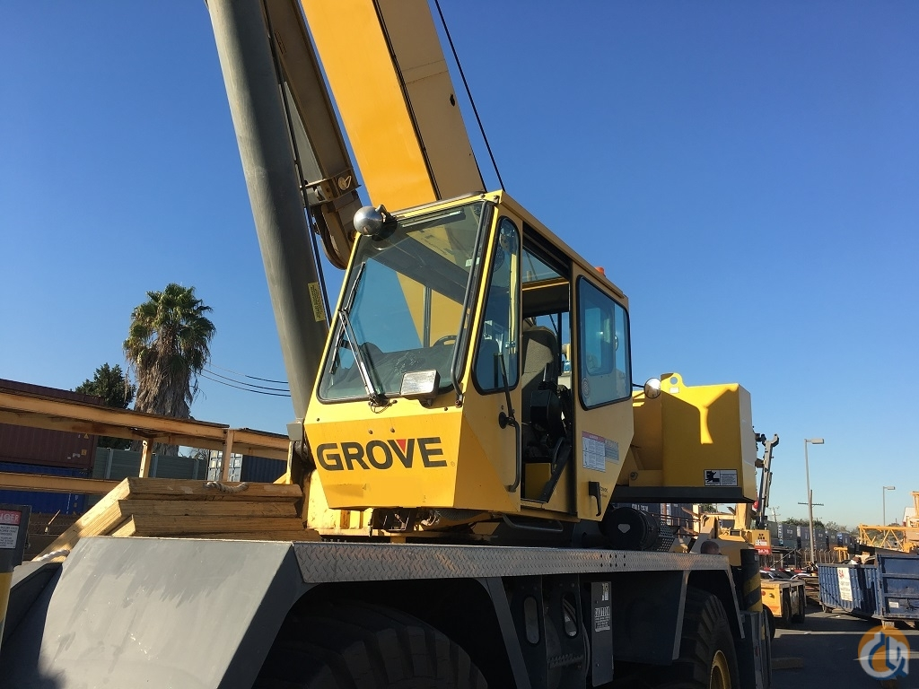 2006 Grove RT650E Rough Terrain Crane for Sale on CraneNetwork.com