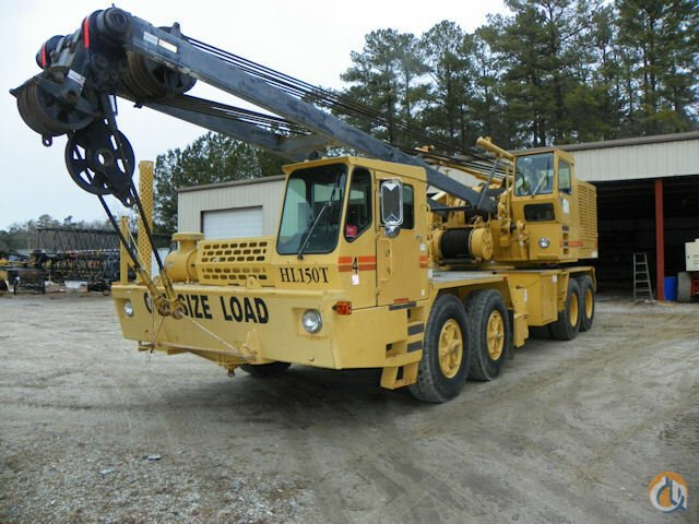 Grove HL150T Crane for Sale in Kernersville North Carolina on CraneNetworkcom