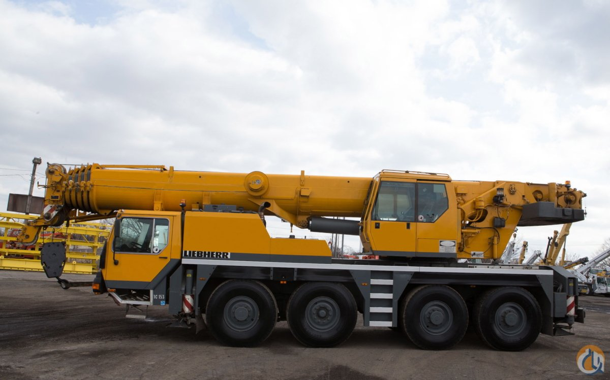 2000 LIEBHERR LTM-1080 ALL TERRAIN CRANE Crane for Sale on CraneNetwork.com