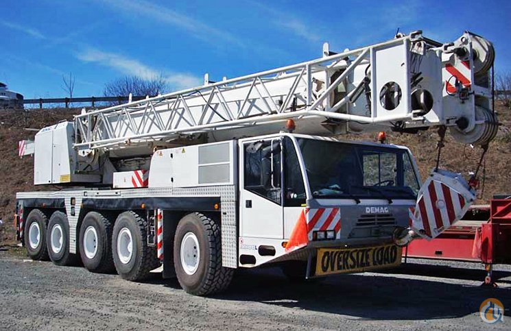 demag ac100l crane for sale on cranenetwork com rh cranenetwork com Demag Cranes & Components Demag Bridge Crane