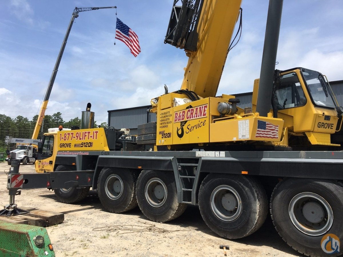2005 Grove GMK5120B Crane for Sale on CraneNetwork.com