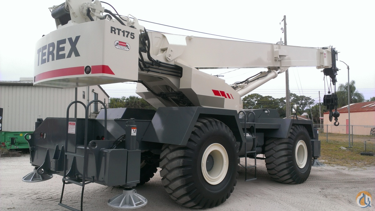 sold 2001 terex rt175 75 ton low hr excellent cond crane for on rh cranenetwork com White Crane RT RT Crane