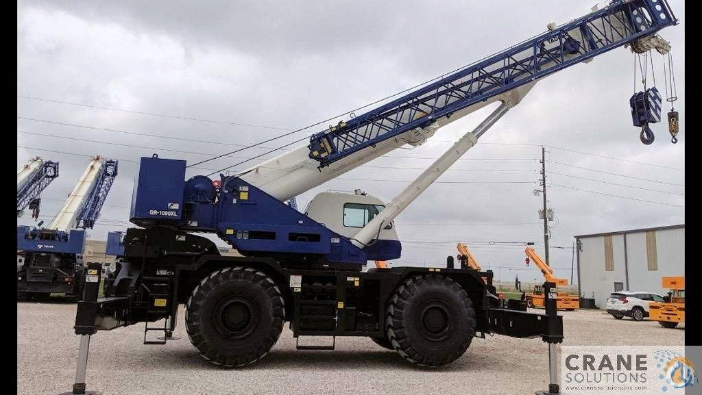 2015 Tadano GR1000XL-3 Crane for Sale in Savannah Georgia on CraneNetwork.com