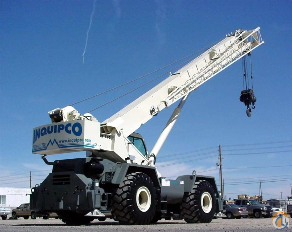 2008 TEREX RT780 Crane for Sale or Rent in Las Vegas Nevada on CraneNetwork.com