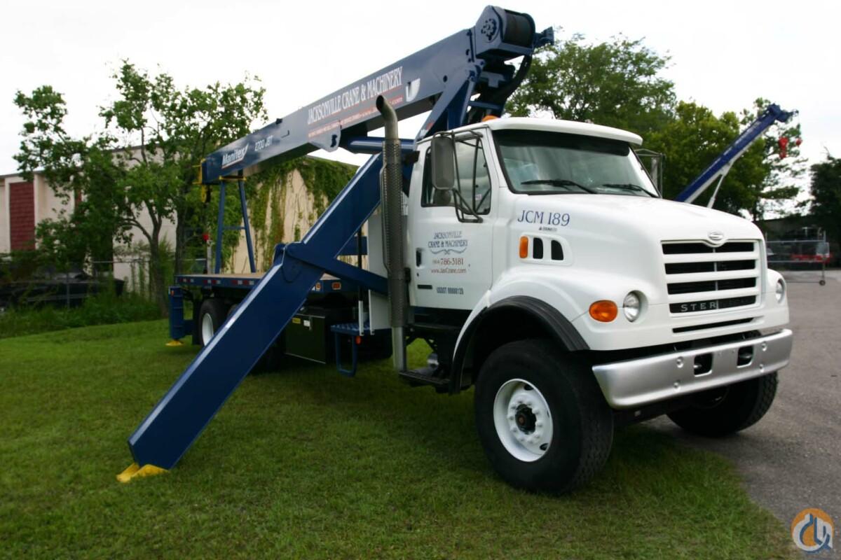 Sold 2002 27 Ton Manitex Boom Truck Crane For In