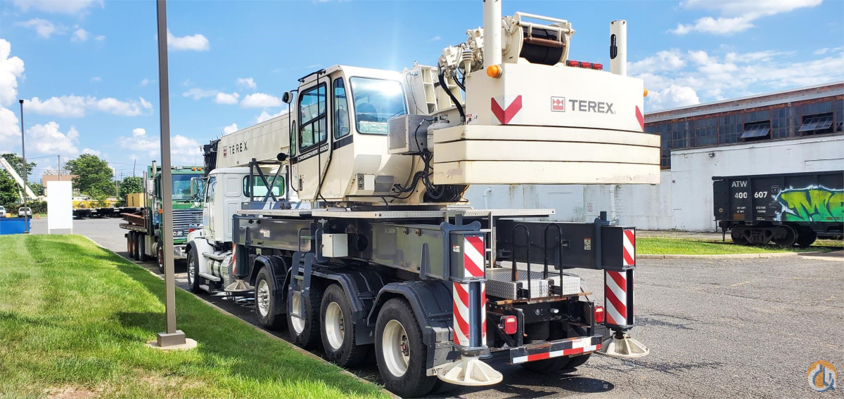 2012 TEREX CROSSOVER 6000 Crane for Sale in Bridgewater Township New Jersey on CraneNetwork.com