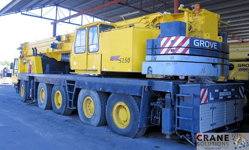 1992 Krupp KMK5110 Crane for Sale in Savannah Georgia on CraneNetwork.com