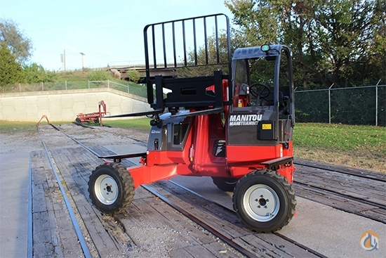 2018 Manitou TMT 55 HT-4W Crane for Sale in Olathe Kansas on CraneNetwork.com