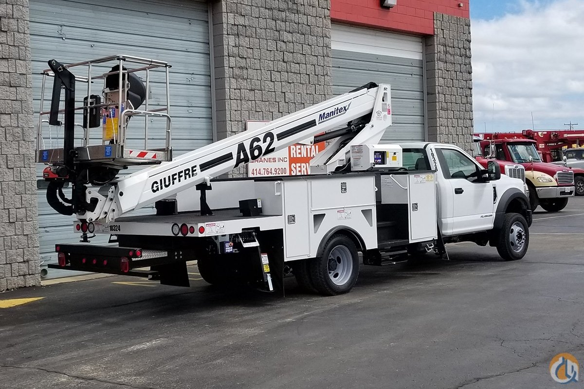 NEW MANITEX AERIAL LIFT A62 Crane for Sale in Milwaukee Wisconsin on CraneNetwork.com