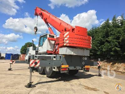 2003 LIEBHERR LTM 1055-1 Crane for Sale on CraneNetworkcom
