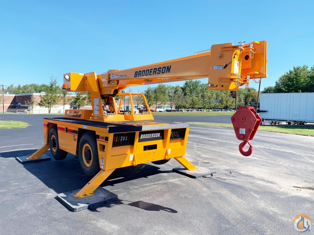 2021 BRODERSON IC-100-A Crane for Sale in North Syracuse New York on CraneNetwork.com
