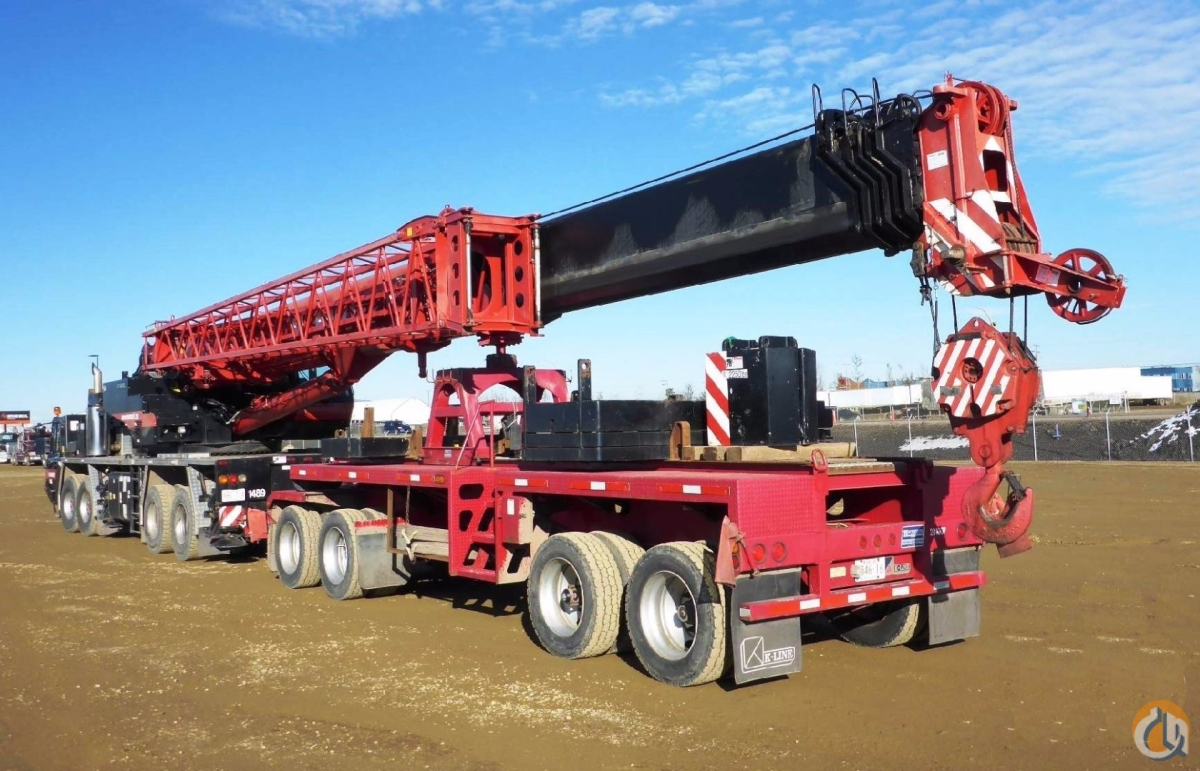 Sold 2008 Tadano GT-900XL Crane for  in Nisku Alberta on CraneNetwork.com