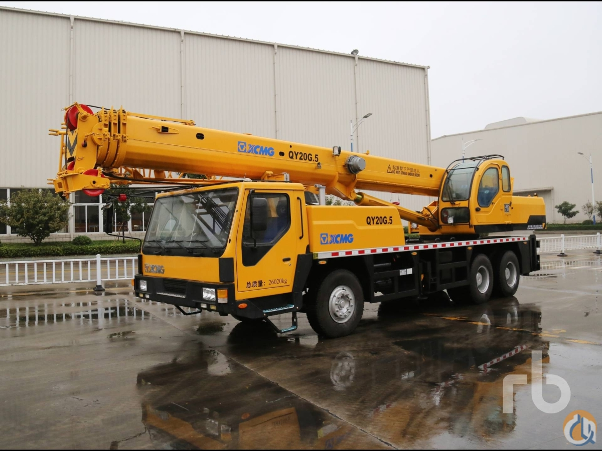 Sold 2013 XCMG QY20G5 Crane for  in Arar Northern Borders Province on CraneNetworkcom