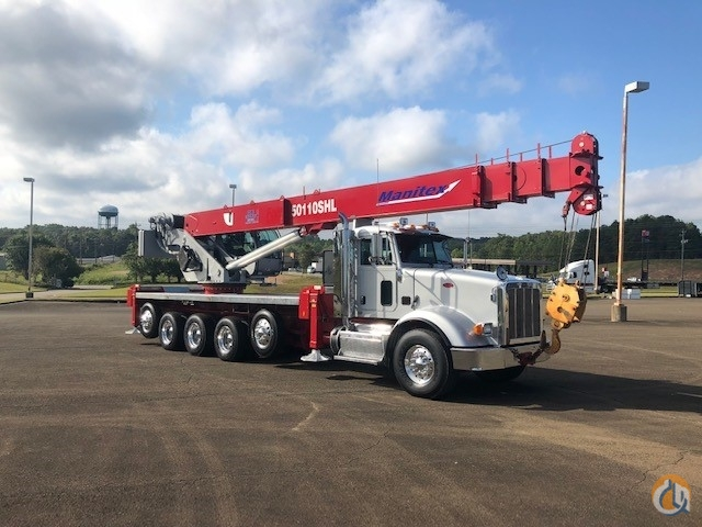 2013 Manitex 50110 SHL Mounted on Peterbilt 367 Crane for Sale on CraneNetwork.com