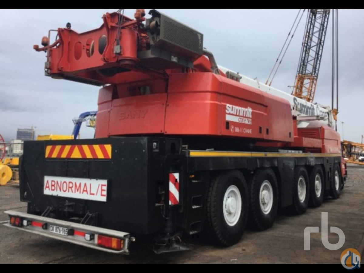 Sold 2014 SANY SAC2200F 220 Ton 220 Ton All Terrain Crane Crane for  in Dubai Dubai on CraneNetwork.com