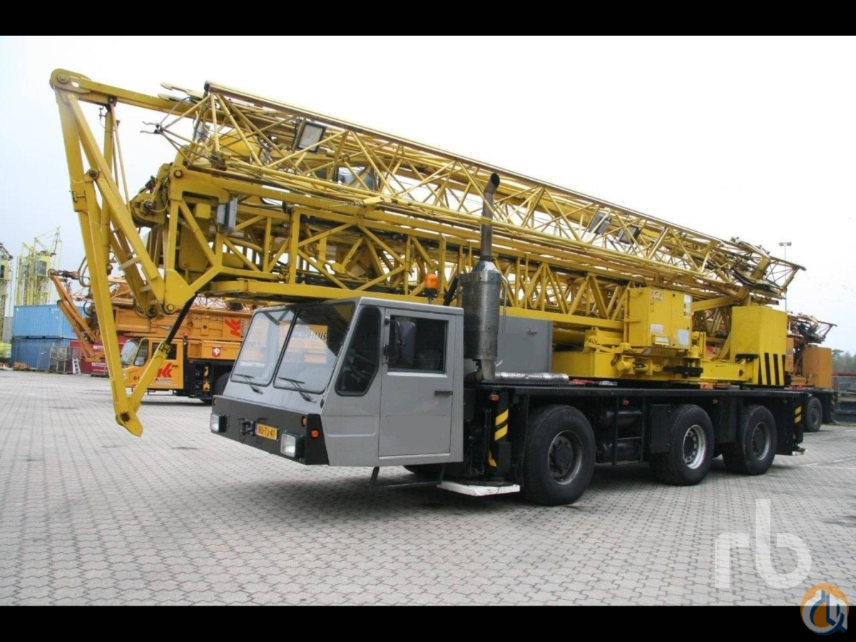 Sold 1993 SPIERINGS SK345-AT3 Crane for  in Zevenbergen North Brabant on CraneNetworkcom