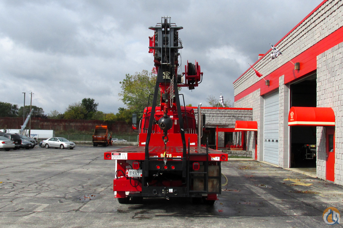 Terex BT5092 25 TON 102 Crane for Sale or Rent in Milwaukee Wisconsin on CraneNetwork.com