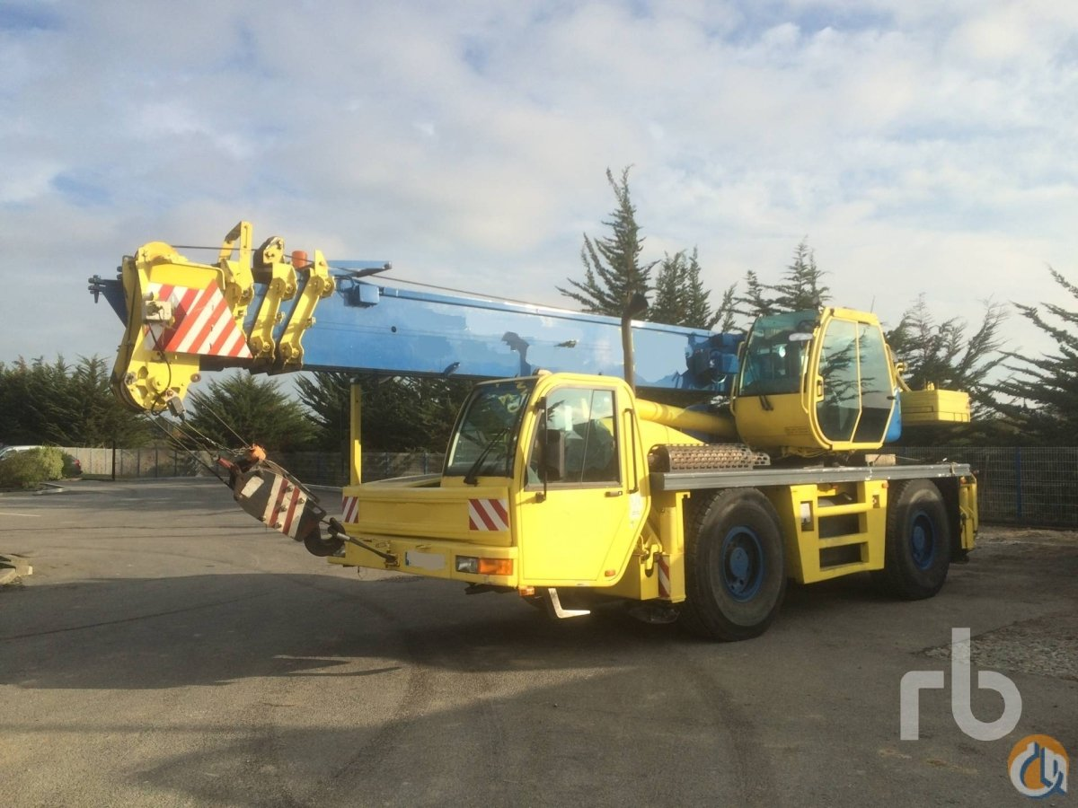 Sold 1999 PPM ATT400 Crane for  on CraneNetworkcom