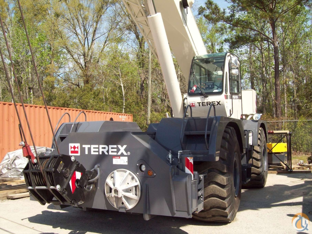 2013 TEREX RT-670 Crane for Sale or Rent in Savannah Georgia on CraneNetworkcom