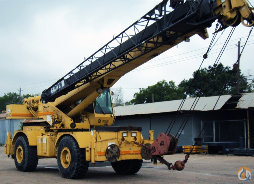 Sold Grove RT635C Rough Terrain Cranes Crane for  1996 Grove RT635C in  Texas  United States 170751 CraneNetwork