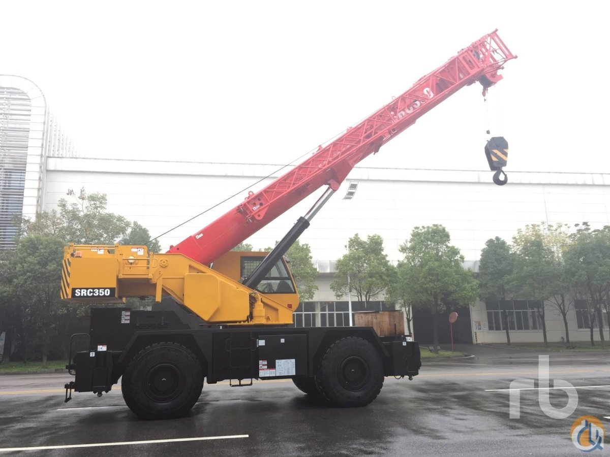 Sany SRC350 Rough Terrain Cranes Crane for Sale UNUSED 2016 SANY SRC350 35 Ton 4x4x4 Rough Terrain Crane in Dubai  Dubai  United Arab Emirates 218943 CraneNetwork