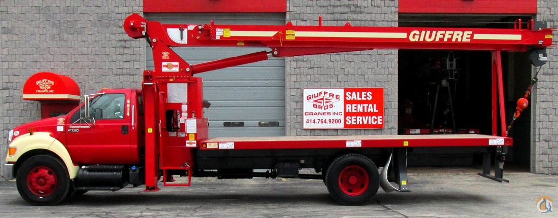 NEW 19-TON MANITEX 1970C ON FORD F750 TRUCK Crane for Sale or Rent in Milwaukee Wisconsin on CraneNetworkcom