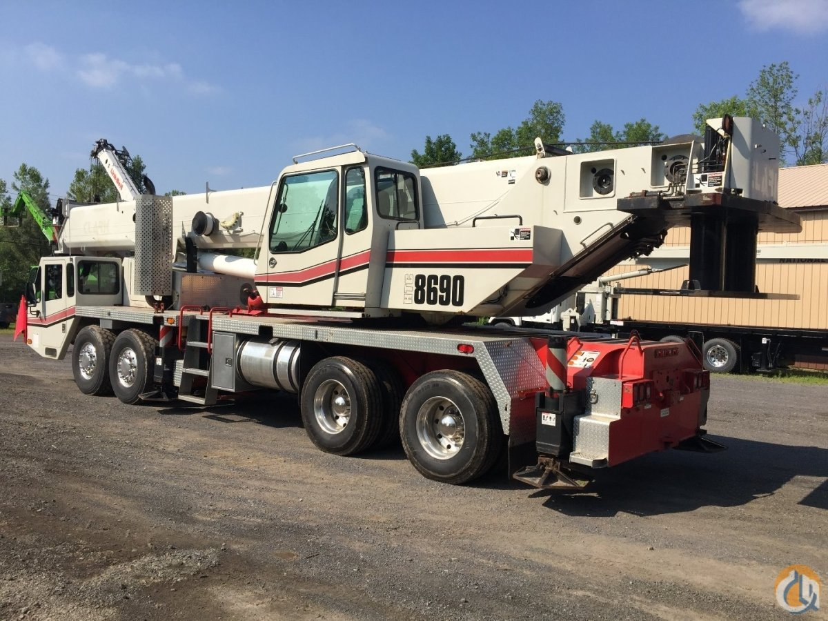 2008 Link-Belt HTC-8690 Crane for Sale in Carlisle Pennsylvania on CraneNetworkcom