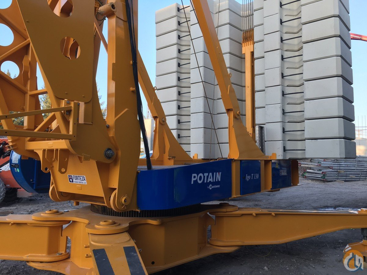 Potain Igo T130 Crane for Sale or Rent in Miami Florida on CraneNetwork.com