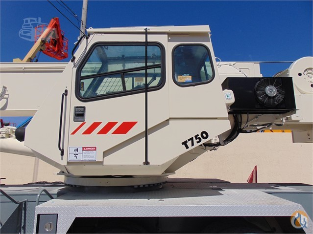 Sold 2000 TEREX T750 Crane for  in Hollywood Florida on CraneNetwork.com