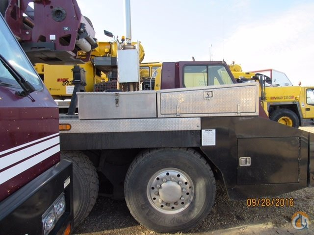 Link-Belt HTC-3140 Truck Mounted Telescopic Boom Cranes Crane for Sale 2010 LINKBELT HTC 3140 140 TON    UNDER 5000 HOURS   ONE OWNER CRANE in  Alberta  Canada 216328 CraneNetwork