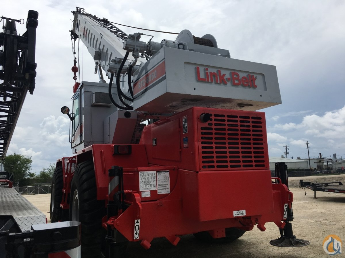 1996 LINK BELT RTC8050 Crane for Sale in Houston Texas on CraneNetwork.com