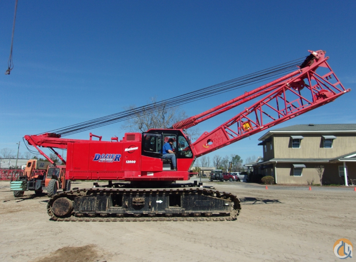 2007 MANITOWOC 12000 Crane for Sale or Rent in Savannah Georgia on CraneNetwork.com