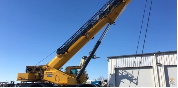 2017 GROVE GRT8100 Crane for Sale in Fargo North Dakota on CraneNetwork.com