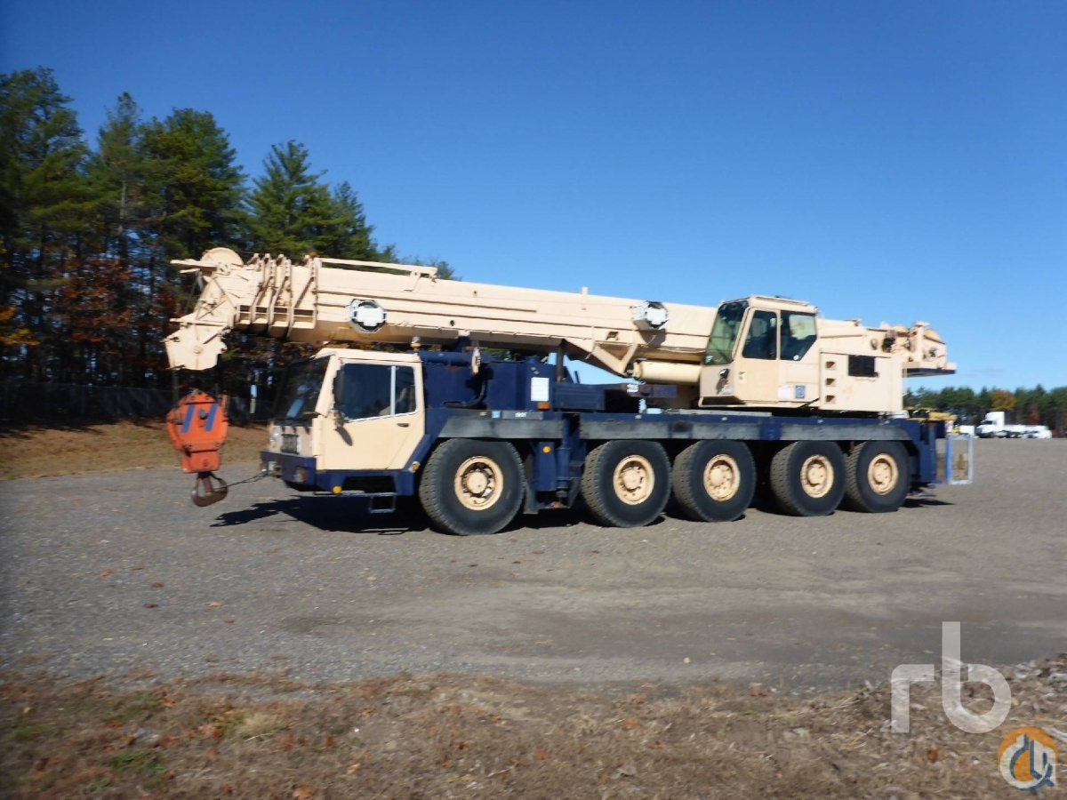 Liebherr LTM 1120N-1 All Terrain Cranes Crane for Sale 1994 LIEBHERR LTM1120N-1 in Manchester  New Hampshire  United States 217997 CraneNetwork